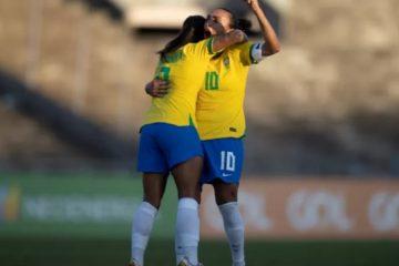 GOLEADA! Seleção Feminina vence Argentina por 4 a 1, em jogo no Almeidão