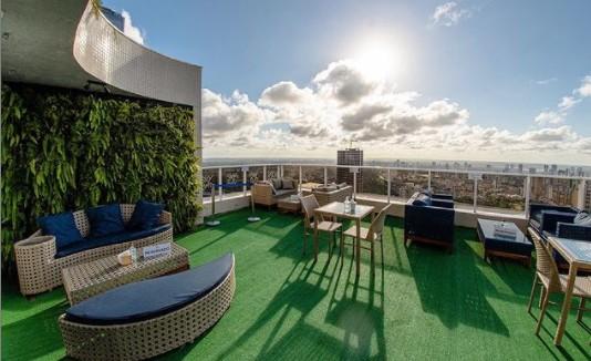sky bar - PONTOS DA PAIXÃO: motéis, restaurantes ou locais turísticos; conheça os melhores lugares de JP para um encontro romântico