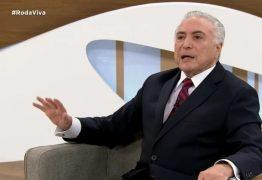 """Temer avalia que impeachment de Bolsonaro é """"incoveniente"""" e que o presidente não deveria se candidatar em 2022"""