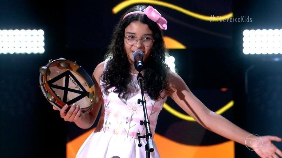 the voice kids helloysa do pandeiro globo - THE VOICE KIDS: No voto, paraibanos se unem para tornar a areiense Helloysa do Pandeiro campeã