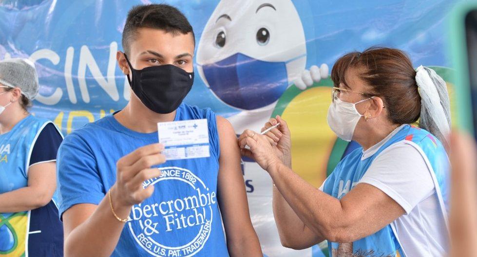 Campina Grande vacina contra Covid-19 adolescentes a partir de 16 anos nesta segunda-feira