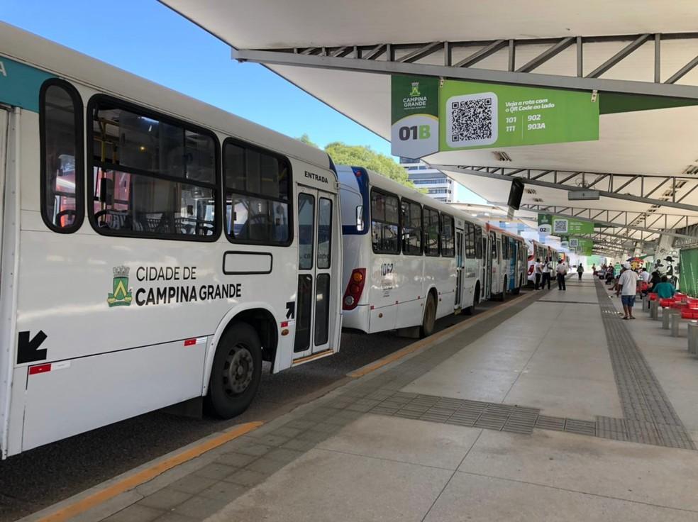 Linhas de ônibus têm mudanças em Campina Grande a partir desta segunda-feira