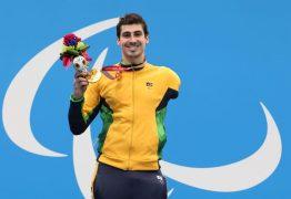 PARALIMPÍADAS: Glock ganha o 7º ouro do Brasil na natação