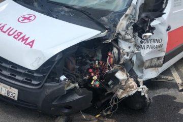 TRAGÉDIA: homem morre em acidente entre carro e ambulância, no Agreste da Paraíba