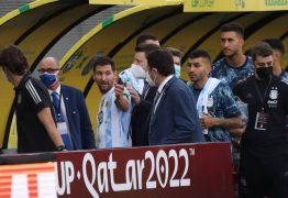 Quebra de protocolo sanitário: Diretor-presidente da Anvisa diz que os quatro jogadores argentinos precisam ser deportados do Brasil