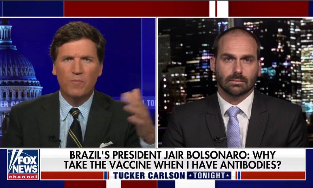 """xbolsonaro.PNG.pagespeed.ic . GeGgiEAbK - EM PROGRAMA: Filho de Bolsonaro chama prefeito de NY de """"marxista"""" após ele criticar o presidente por não ter se vacinado"""
