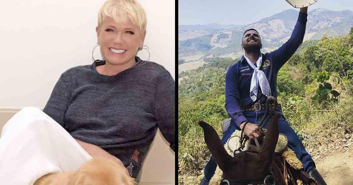 """ze neto xuxa - POLÊMICA! Zé Neto viaja montado em burro para pagar promessa e Xuxa critica o cantor: """"Leva o bichinho nas costas"""""""