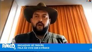 ze trovao 1 - Após reunião com Bolsonaro, Zé Trovão anuncia fim da greve de caminhoneiros: 'grande estadista'