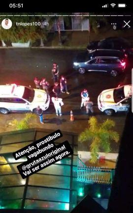 01 - Ex-marido de Andressa Urach chama a polícia para fechar 'boate' em que ela ia trabalhar
