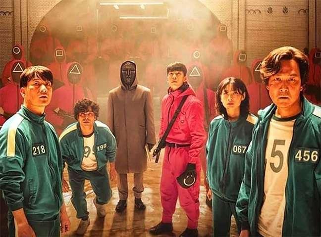"""101446020 squid game k drama - Sucesso de """"Round 6"""" faz fundador da Amazon elogiar Netflix"""