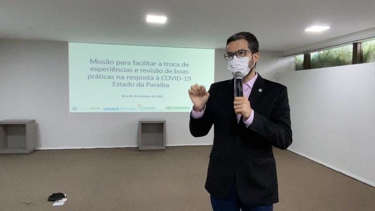 1f0ad7ea b449 40b0 ae1e e0bf2c872dd2 - Opas destaca transparência na comunicação entre as boas práticas da Paraíba no combate à pandemia