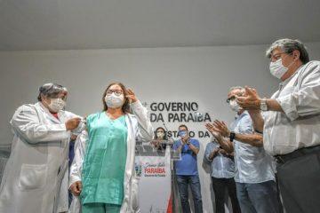 Paraíba já tem 98,3% da população acima de 18 anos com, pelo menos, uma dose da vacina contra covid-19