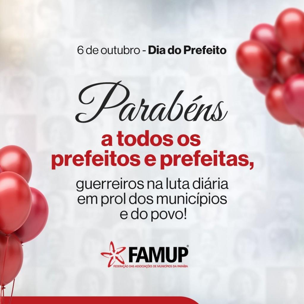 453ccdc6 a257 2267 2bfc 57dc39000234 - Famup encabeça lutas em defesa dos municípios paraibanos