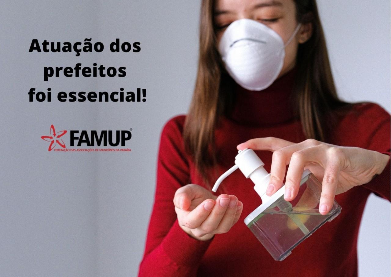 66b0840c efc3 89aa 811f 16dd07442427 - Nordeste tem menor taxa de mortes por covid-19 e Famup destaca atuação dos prefeitos no combate a doença