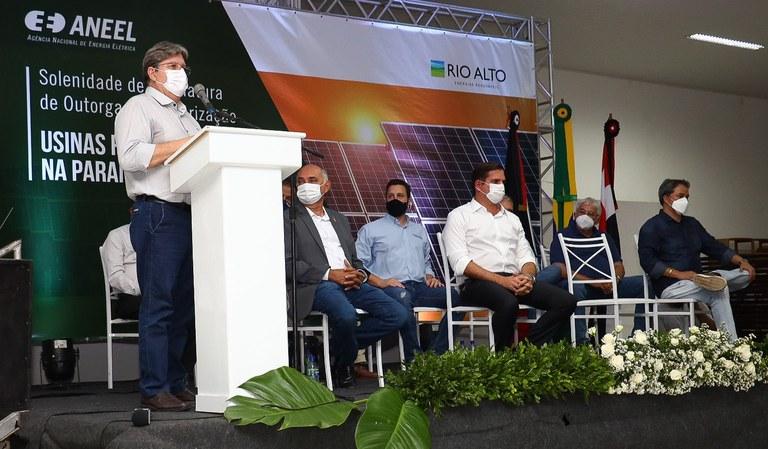 6d1b19e4 e873 478a 9f30 9ff016f872e4 - João Azevêdo participa de assinatura de instalação em Santa Luzia do maior parque eólico da América Latina
