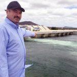 A chegada das agu8as no sertao paraibano foi comemorada pelo deputado estadual Jeova Campos 150x150 - Estou muito feliz e emocionado com a chegada das águas da transposição no sertão da Paraíba afirma Jeová Campos