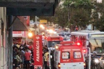 ASSALTO 360x240 - MOMENTOS DE TERROR: dona de loja reage a assalto, atira e mata um dos suspeitos, em Campina Grande