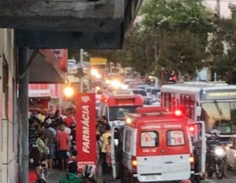ASSALTO - MOMENTOS DE TERROR: dona de loja reage a assalto, atira e mata um dos suspeitos, em Campina Grande