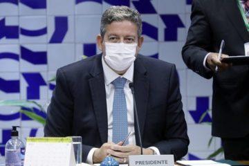Lira protesta contra o indiciamento de deputados pela CPI da Covid