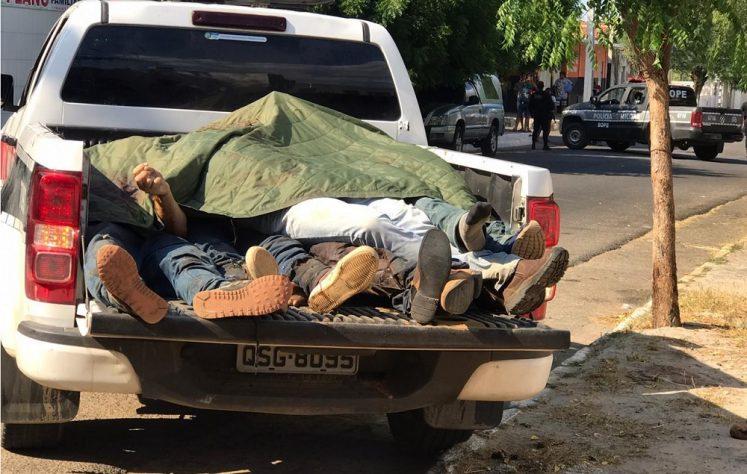 Assaltantes BB Coremas 01 capa e1600603577879 - Bandidos envolvidos em assaltos a bancos morrem ao trocar tiros com policiais civis em Coremas
