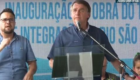 Captura de tela 2021 10 21 113524 - Em evento na Paraíba, apoiador de Bolsonaro chama Renan Calheiros de vagabundo e presidente diz que ser chamado de vagabundo é elogio para o senador - VEJA VÍDEO
