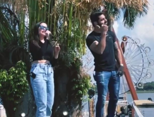 Capturar 2 - Feat? Juliette e Rodolffo gravam música juntos - VEJA VÍDEO