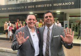 Inácio Queiroz marca presença em registro da chapa 'Atitude OAB' e fala sobre cargo de Conselheiro Federal do órgão