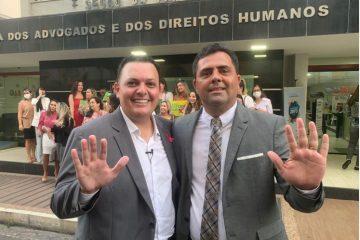 Capturar 26 360x240 - Inácio Queiroz marca presença em registro da chapa 'Atitude OAB' e fala sobre cargo de Conselheiro Federal do órgão
