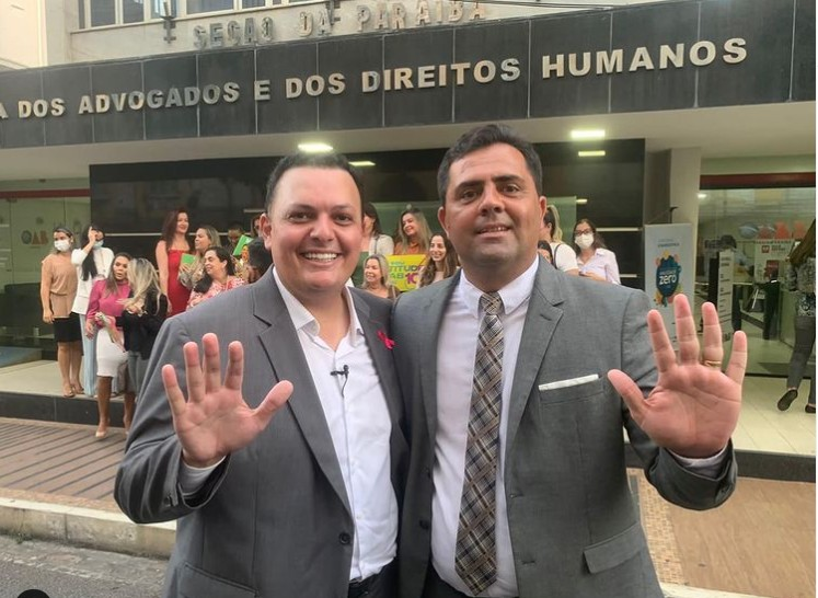 Capturar 26 - Inácio Queiroz marca presença em registro da chapa 'Atitude OAB' e fala sobre cargo de Conselheiro Federal do órgão