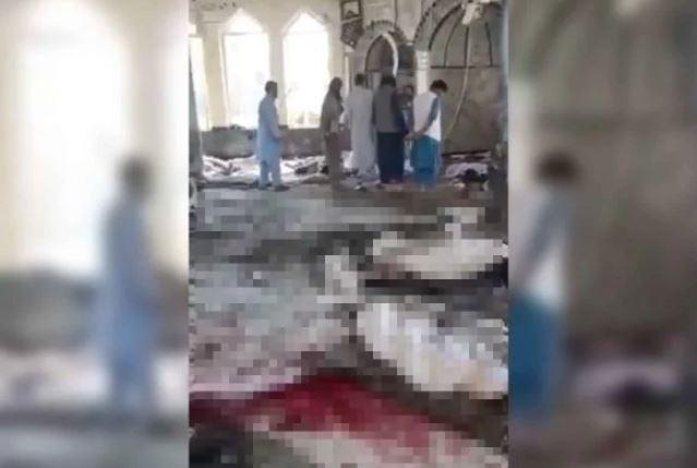 Capturar 9 - TRAGÉDIA: Explosão em mesquita no Afeganistão deixa mais de 100 mortos e feridos
