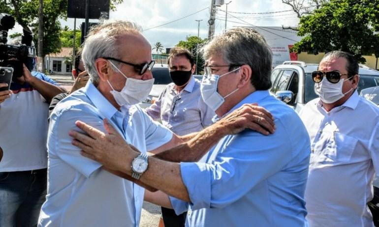 """Cicero Lucena 2 - Cícero """"fecha"""" com Azevêdo e se diz avalista de Aguinaldo ao Senado"""