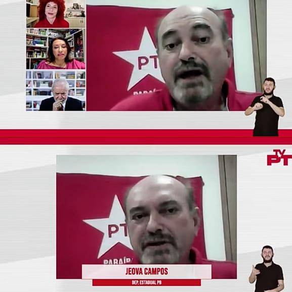 Deputado Jeova Campos anunciou seu retorno ao PT - Jeová prestigia ato de filiação de Ricardo