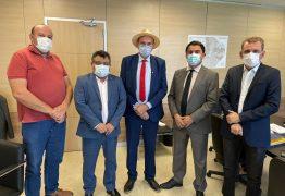 Jeová Campos se reúne com o secretário Nacional de Segurança Hídrica e anuncia que nos próximos 15 dias a barragem de Morros já terá água da Transposição