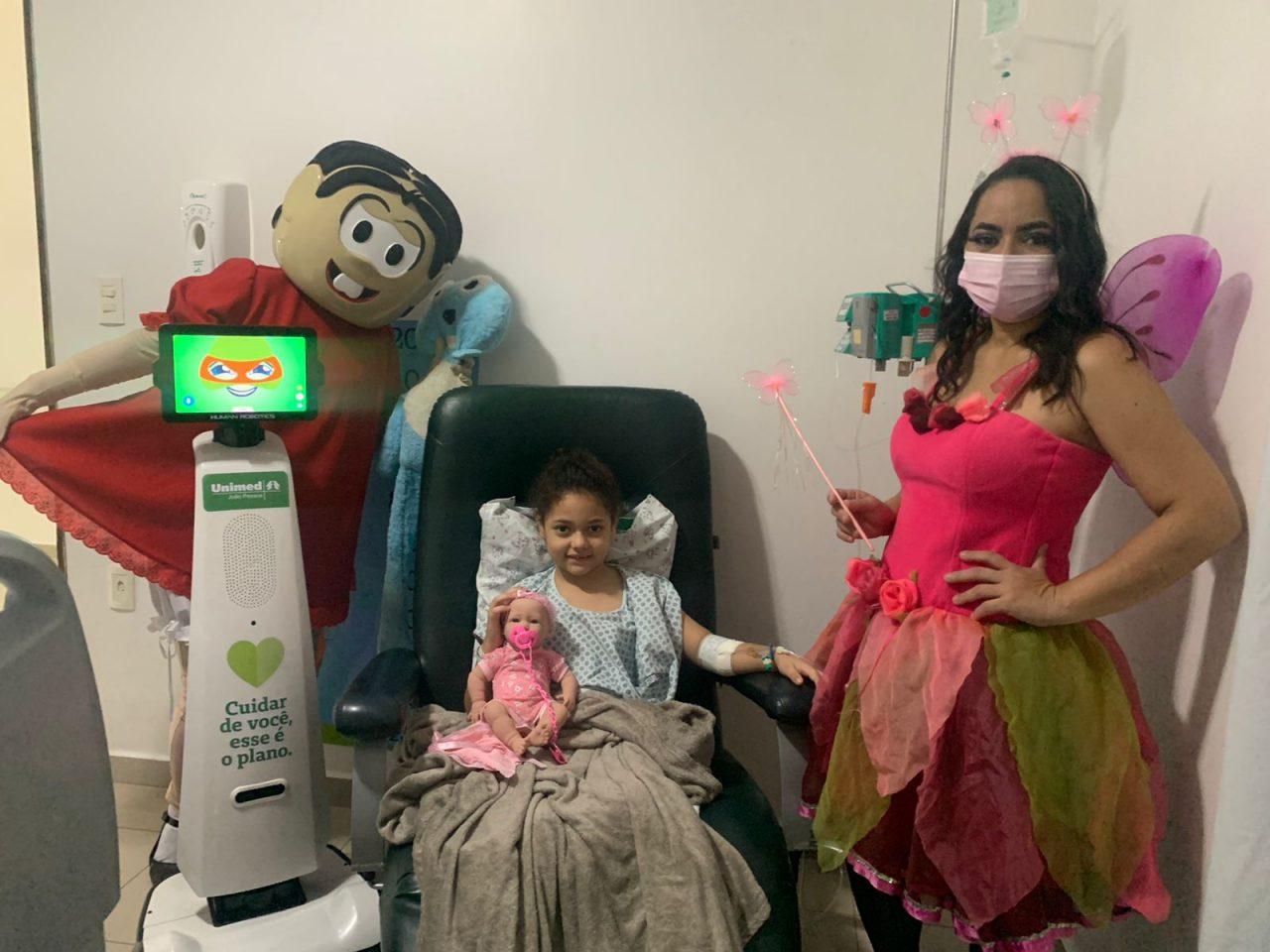 Dia das Criancas HPU 13  scaled - Hospital pediátrico da Unimed João Pessoa faz surpresa aos pequenos pacientes