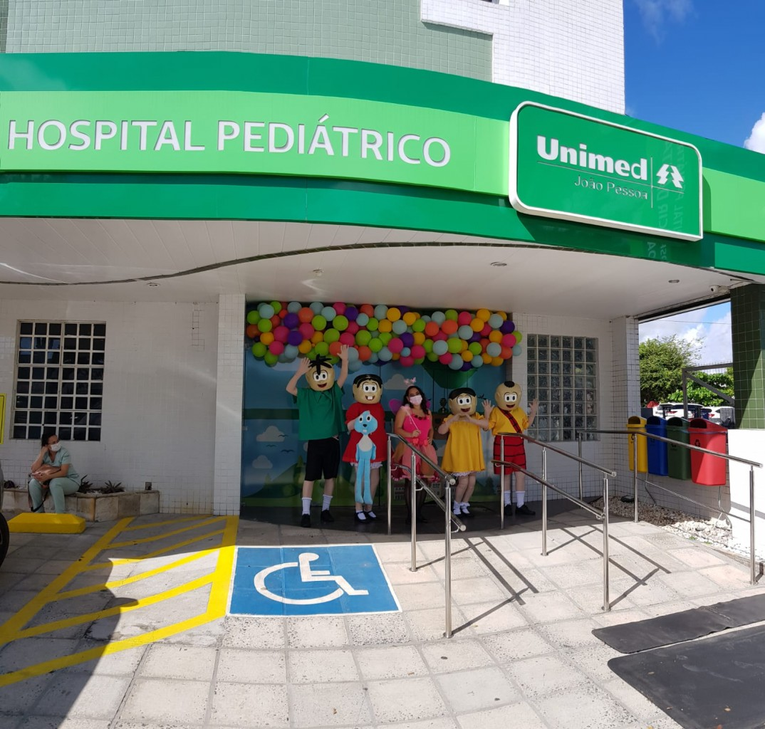 Dia das Criancas HPU 19  - Hospital pediátrico da Unimed João Pessoa faz surpresa aos pequenos pacientes