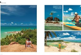'JOIA RARA': Paraíba é destaque na revista de bordo da Azul