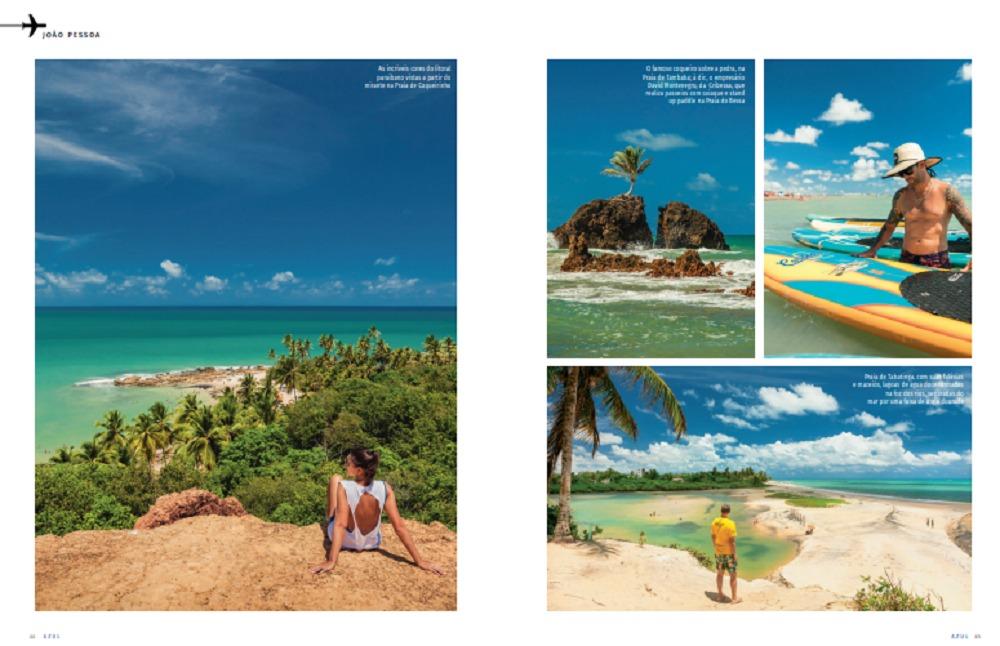 JOIA RARA PB - 'JOIA RARA': Paraíba é destaque na revista de bordo da Azul