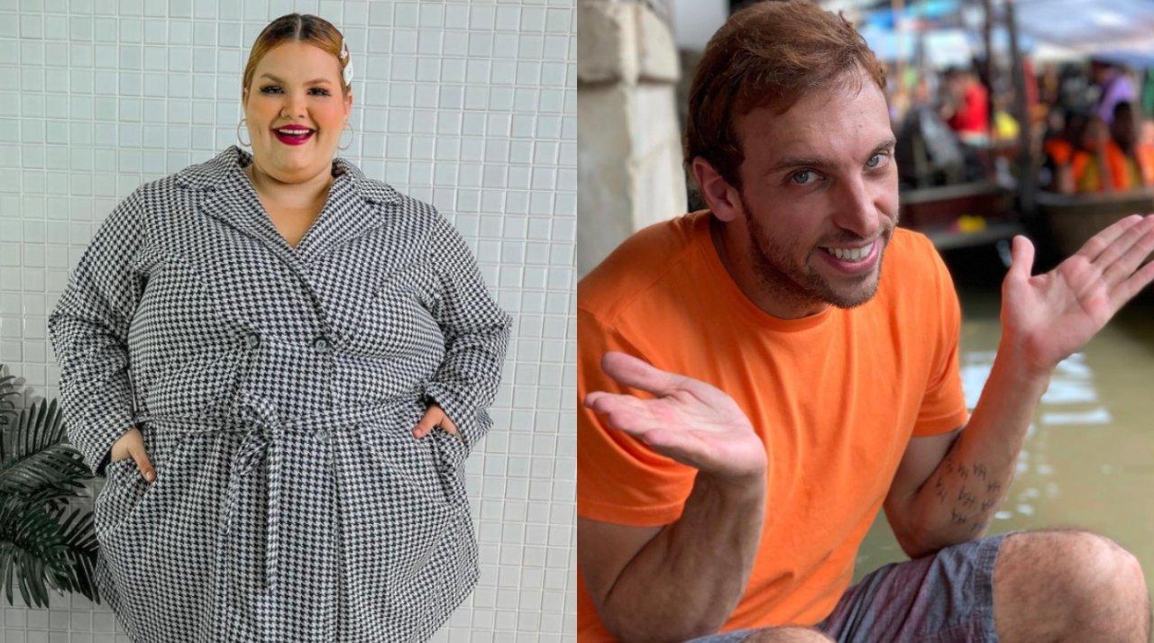 """Leo Lins E THAIS CARLA - Thais Carla vence batalha judicial contra humorista Leo Lins por gordofobia: """"Ninguém pode nos ofender"""""""