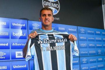 """Vagner Mancini é contrato pelo Grêmio e promete fazer história: """"Sei do que o time é capaz!"""""""