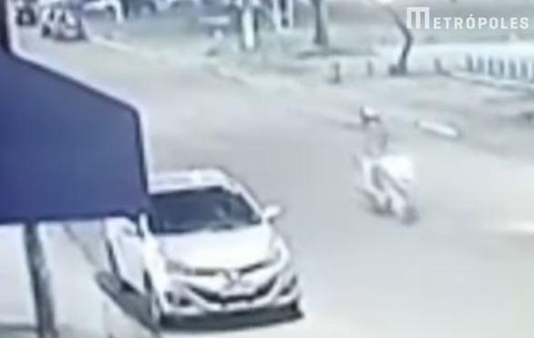 MORTE - Câmeras flagram execução de vereador na fronteira Brasil-Paraguai - VEJA VÍDEO