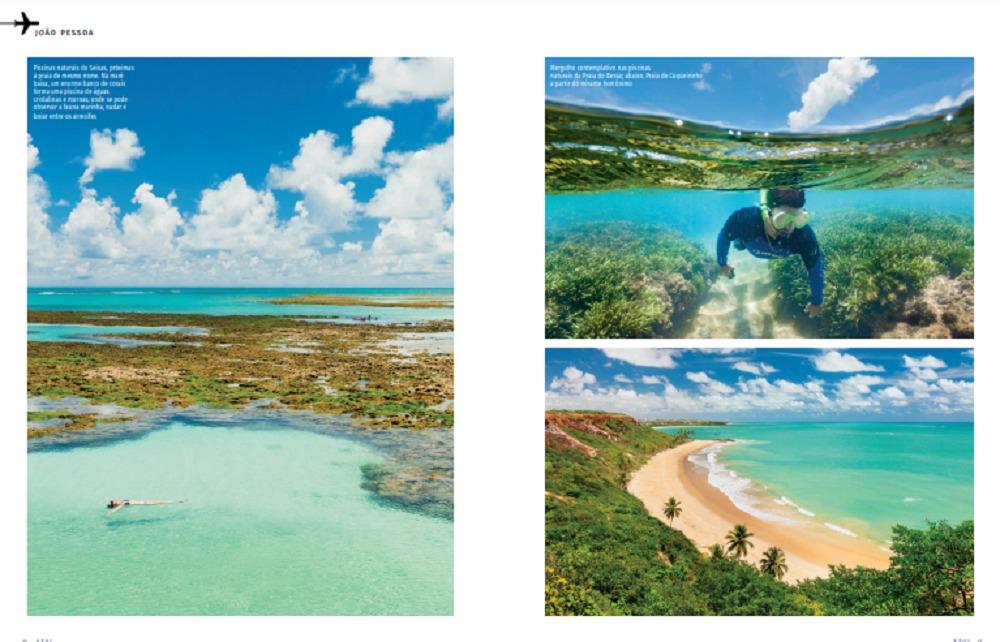 PB1 - 'JOIA RARA': Paraíba é destaque na revista de bordo da Azul