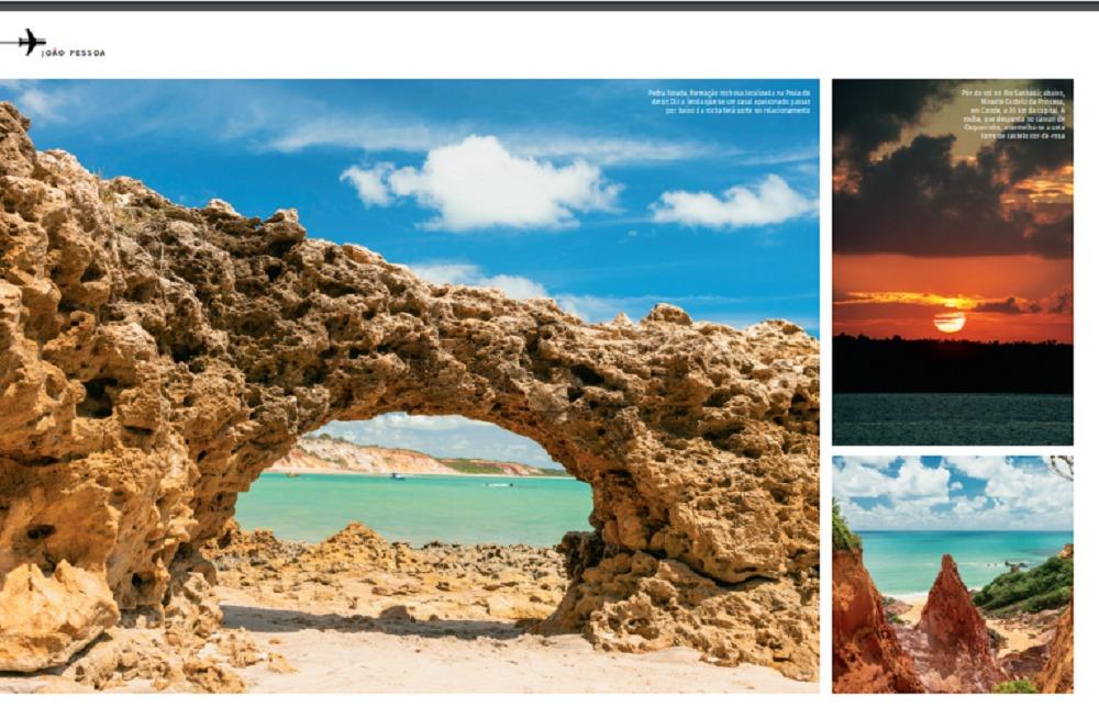 PB2 - 'JOIA RARA': Paraíba é destaque na revista de bordo da Azul