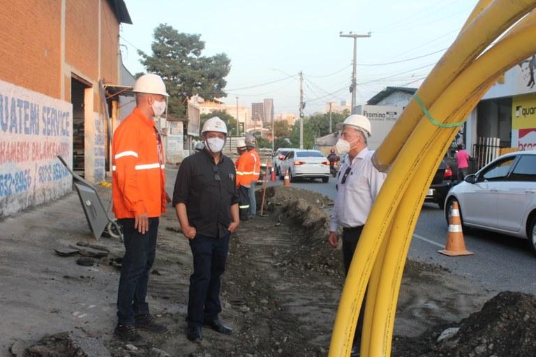 PBGas CG - PBGás inicia obras de expansão de rede nos bairros de Catolé e Centro