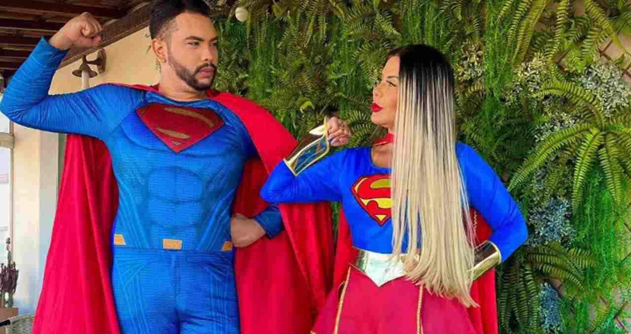 Pastora Renalida Carvalho Reproducao - ORANDO PELAS CRIANÇAS: Renallida Carvalho deixa roupas de grifes de lado e realiza culto fantasiada de Super Girl - VEJA VÍDEO