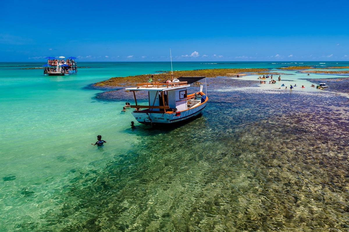 Seixas Marco - MPF denuncia dano ambiental e pede na Justiça proibição de embarcações em áreas de corais em praias da Grande João Pessoa