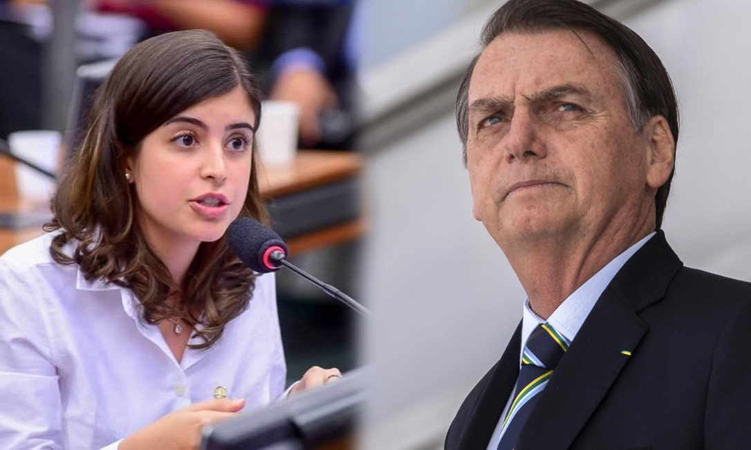 "Tabata Amaral Bolsonaro - ""LIVRE PARA MENSTRUAR!"": Tabata Amaral tenta derrubar veto de Bolsonaro e ganha apoio de deputadas e senadoras"