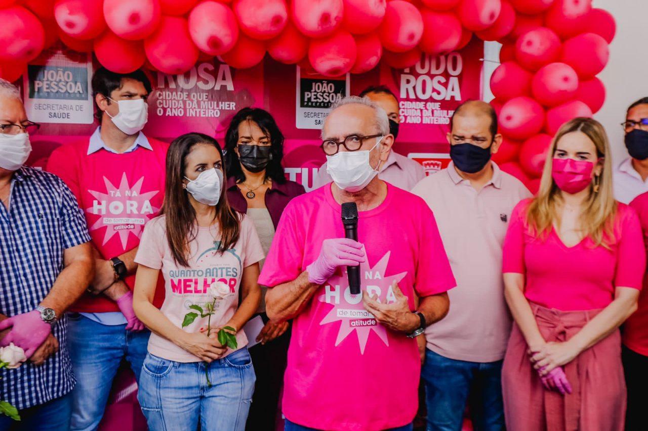 WhatsApp Image 2021 10 01 at 09.45.04 scaled - Cícero Lucena abre programação do mês de combate ao câncer de mama com o programa Tudo Rosa