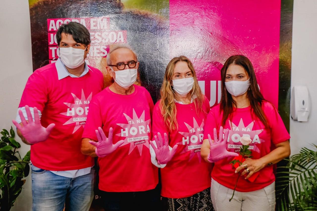 WhatsApp Image 2021 10 01 at 09.45.08 - Cícero Lucena abre programação do mês de combate ao câncer de mama com o programa Tudo Rosa