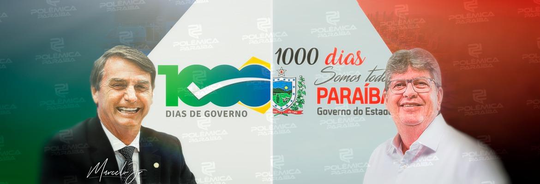 WhatsApp Image 2021 10 01 at 10.28.03 - MIL DIAS DE GOVERNOS: quais as marcas das gestões de Jair Bolsonaro e João Azevêdo?