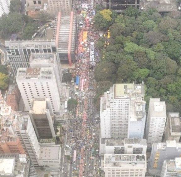 WhatsApp Image 2021 10 02 at 17.50.52 e1633208804310 - PM divulga imagem aérea de ato contra Bolsonaro na Avenida Paulista; confira